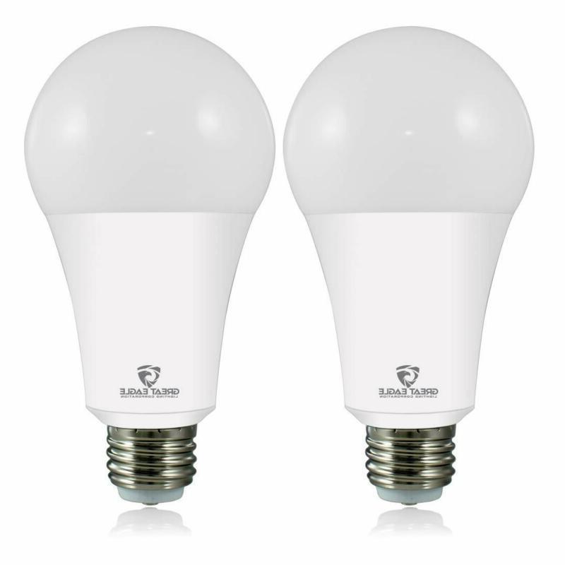 Great Eagle 50 100 150W Equivalent 3 Way Led Light Bulb 3000