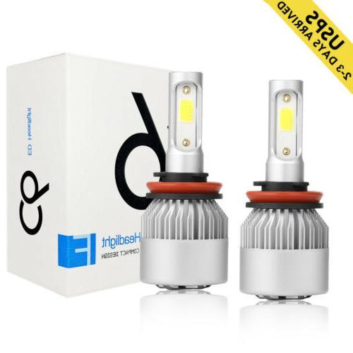 h1 led headlight bulb conversion kit 200w