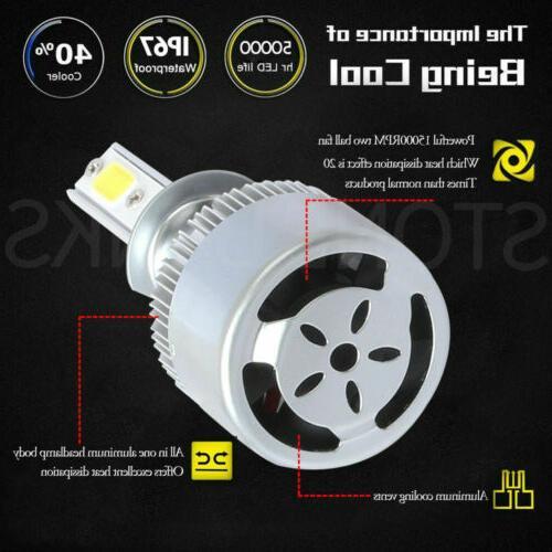 H11 Bulb Conversion 6000K Low