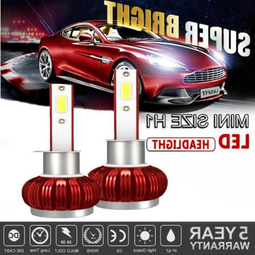 h1 led headlight bulbs conversion kit 2500w