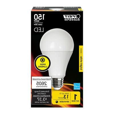 high lumen a21 led 150w equivalent warm