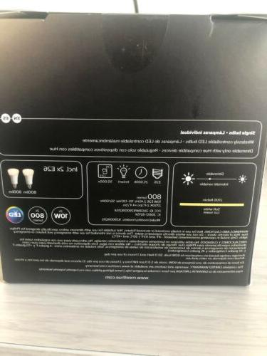 Philips Hue White A19 LED Bluetooth