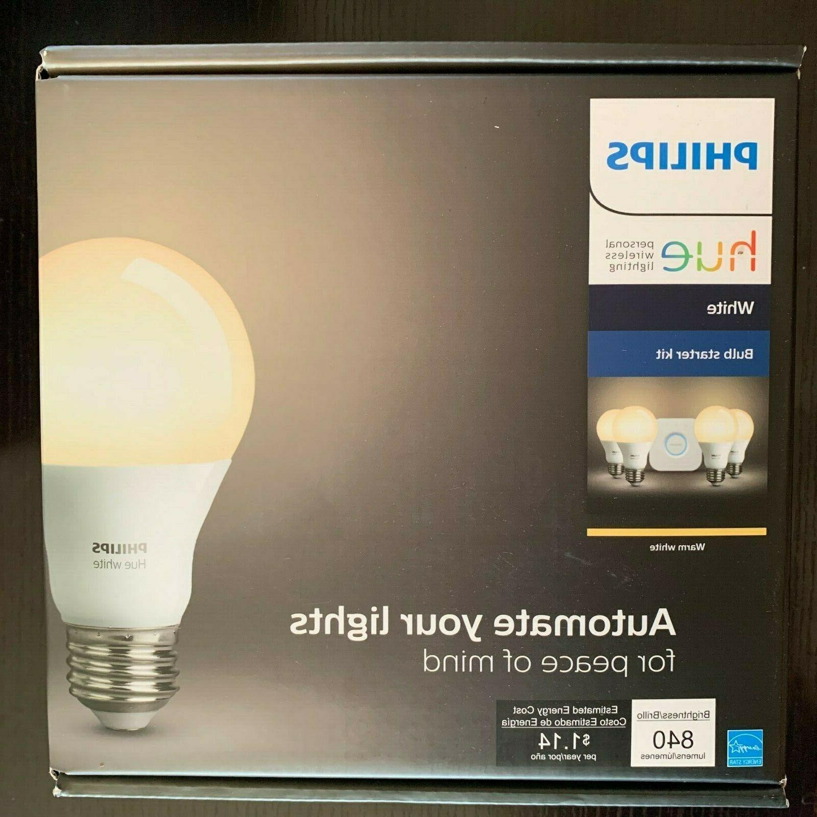 hue white smart bulb starter