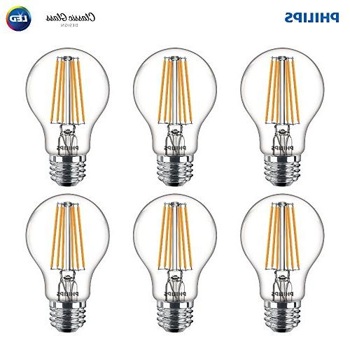 indoor a19 clear glass dimmable