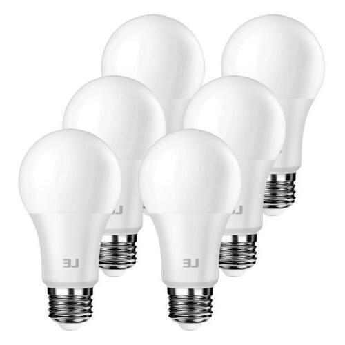 LE 8.5W A19 E26 Light Bulbs 800 Lumens 5000K