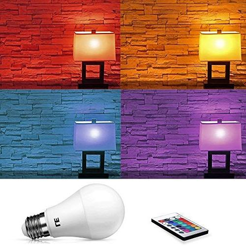 LE A19 Light Incandescent Equivalent, RGBW, 6W Control, for Room,