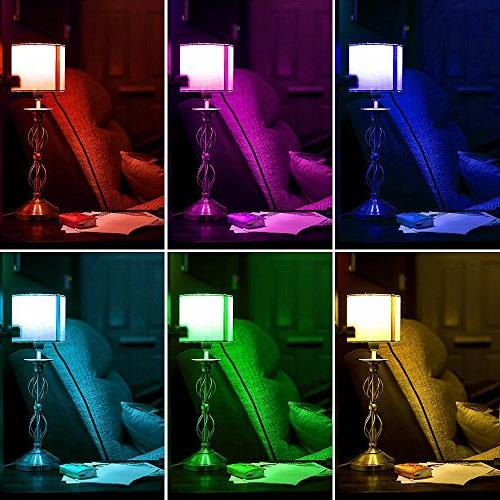 LE LED Light 40 6W 4 Color Changing Control, Home, Living Room, Bedroom and