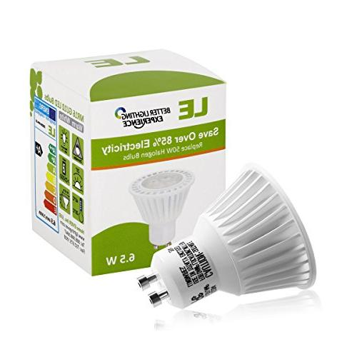 GU10 LED Light 50W Halogen 6.5W MR16 360lm, 25° Beam Angle, Warm White, Light, Track