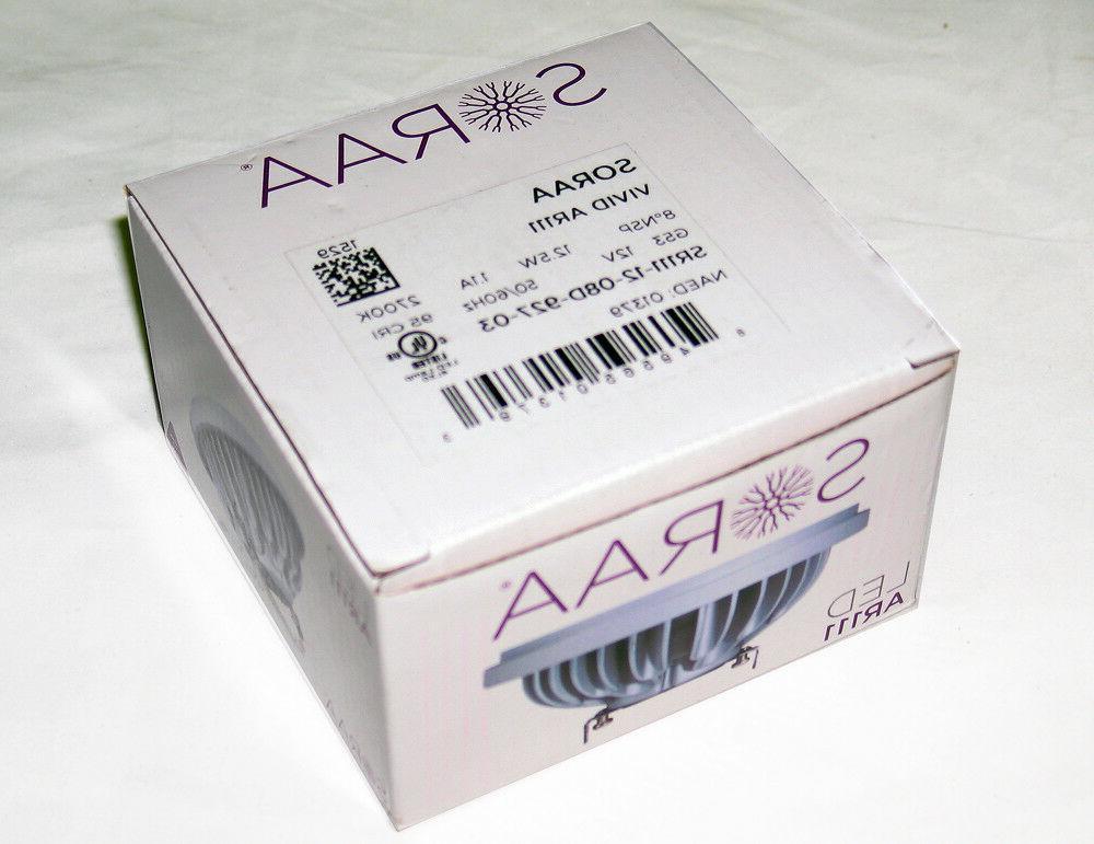 LED Soraa 01379 SR111-12-08D-927-03 12.5 AR111 Bulb, New!