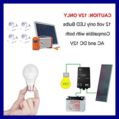 LED E26 10W A19 Volt Low Voltage Screw 60 75W