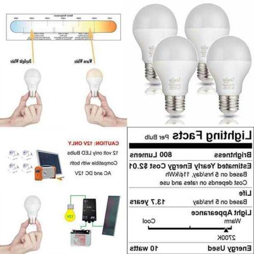 led 12v e26 bulbs 10w a19 12