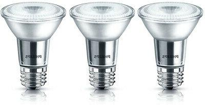 Philips LED 50W Equiv. PAR20 Daylight Bulb, 6 Pack, 467654,
