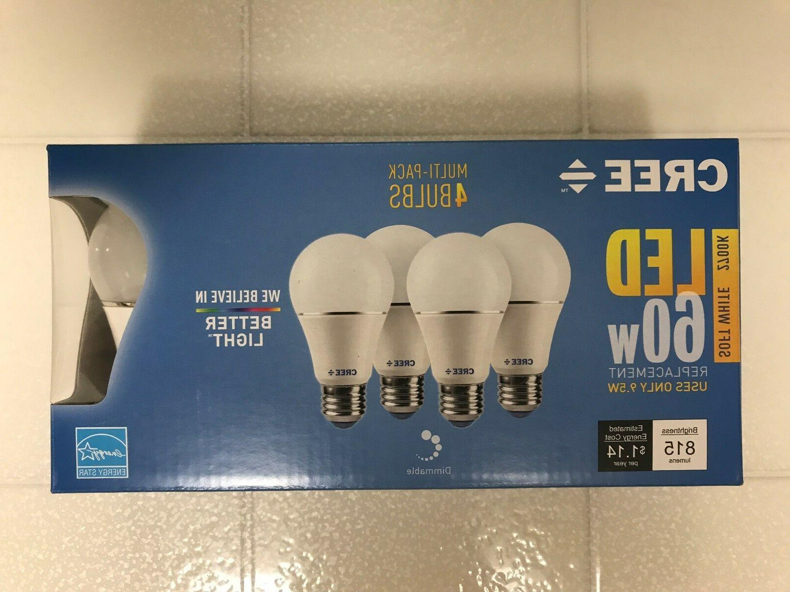 led 60w 10w soft white dimmable 60