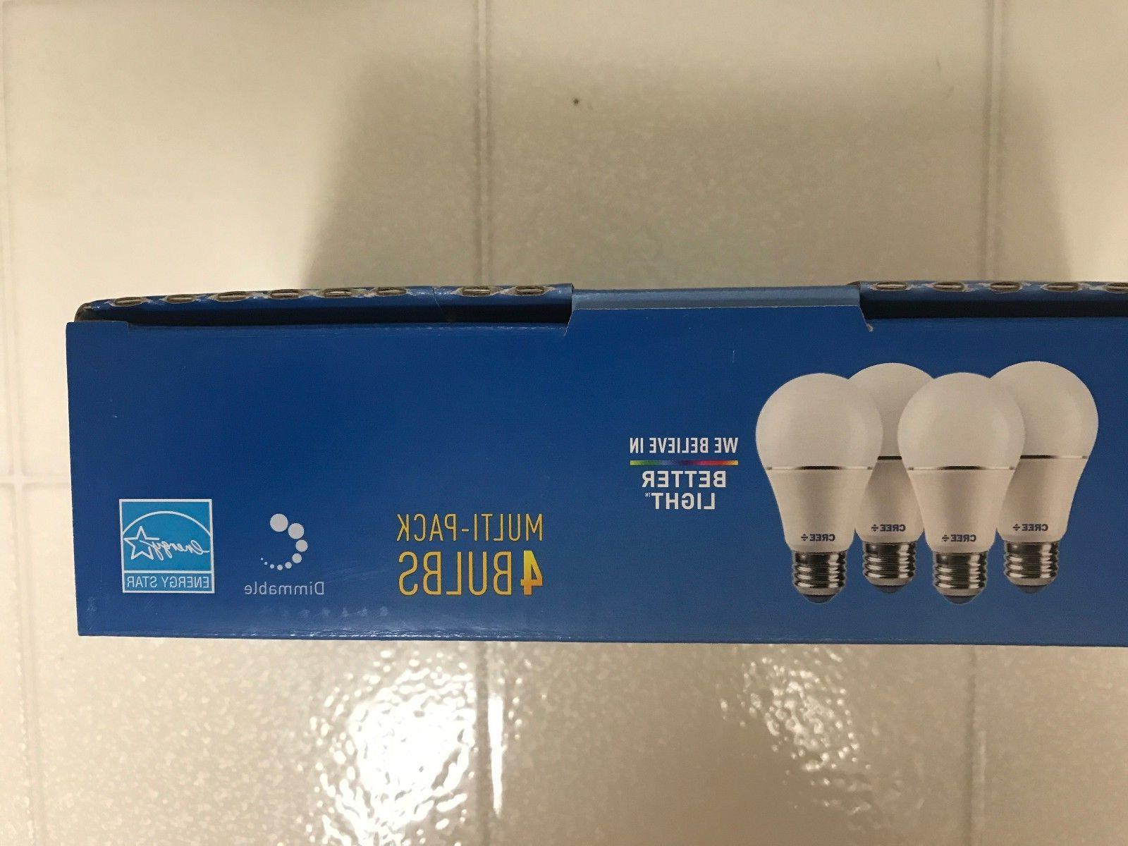 CREE LED = 60 Watt Equivalent 2700K