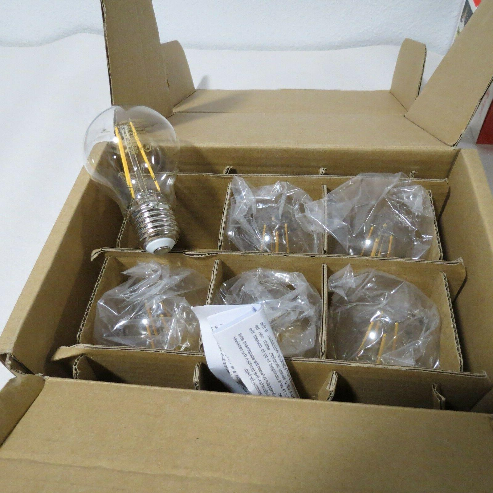 E26 CLEAR NON-DIMMABLE 2700K PACK