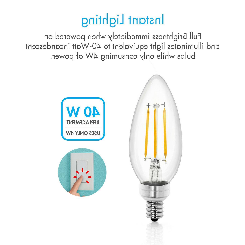 Tenergy Bulbs 4W Soft E12 Candle