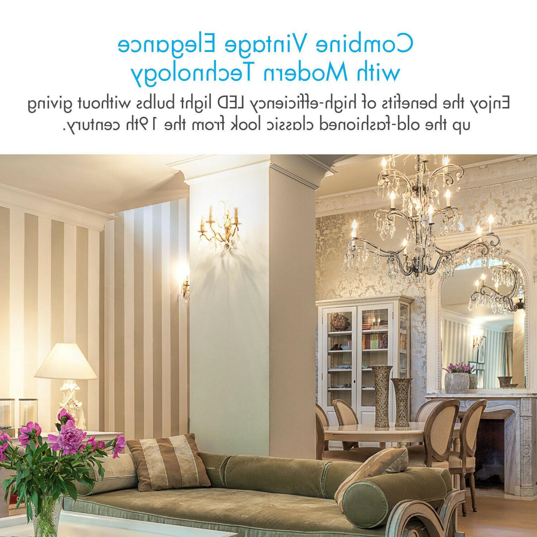 Tenergy LED Bulbs 4W Soft E12 Candle