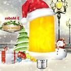 Warmoon LED Flame Light Bulbs Fire Flashes 3 Mode 5W E26 Bul