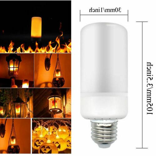 E27 LED Flame Light Bulb Simulated Burning Effect Festival Party
