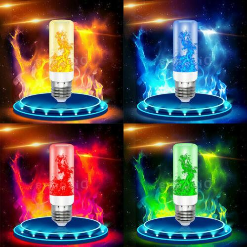 E27 LED Flicker Flame Light Bulb Simulated Burn Fire Effect