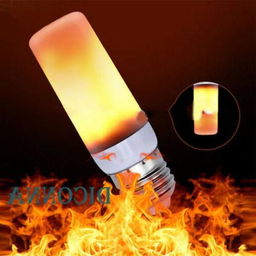 LED Flicker Light Bulb E27 Burn Fire Effect Party