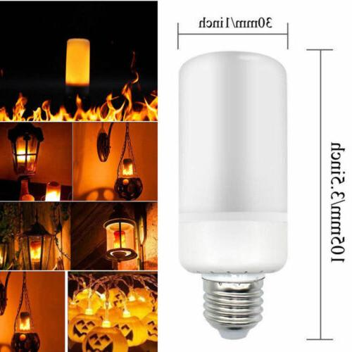 LED Flicker Bulb E27 Simulated Burn Fire Decor