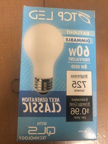 led lff60a19d1550k 8 watt led bulb 725