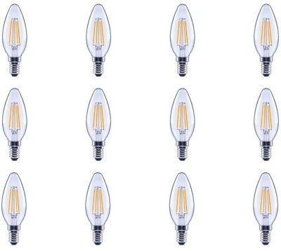 EcoSmart LED Light Bulb 4 Watt Filament Vintage Dimmable Cle