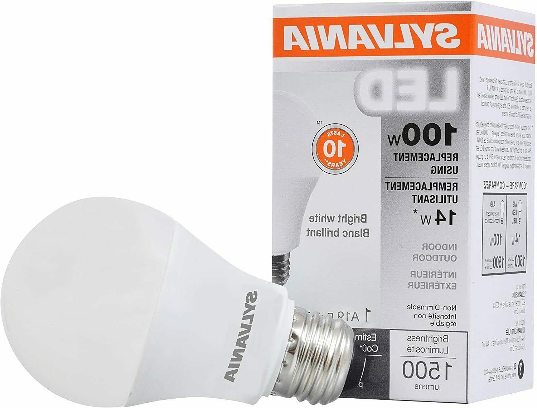 led light bulb bright white 14w 3500k
