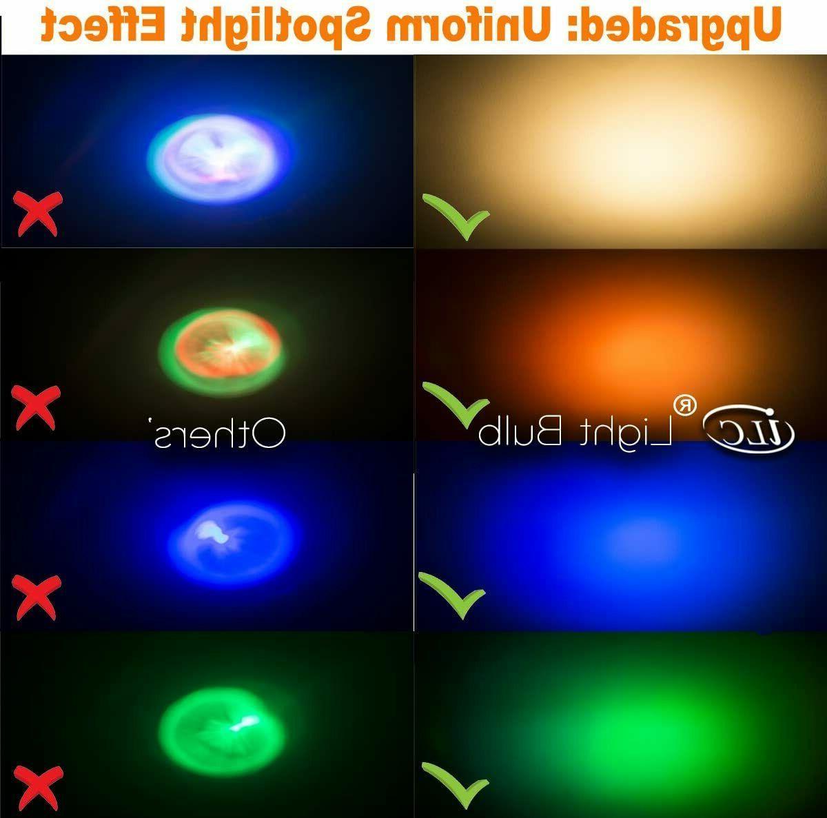 LED Watt Equivalent Colors,-
