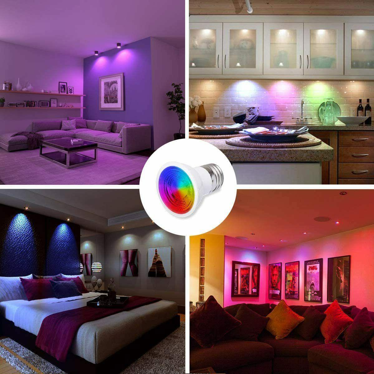LED Light Watt Colors,- FREE Ship