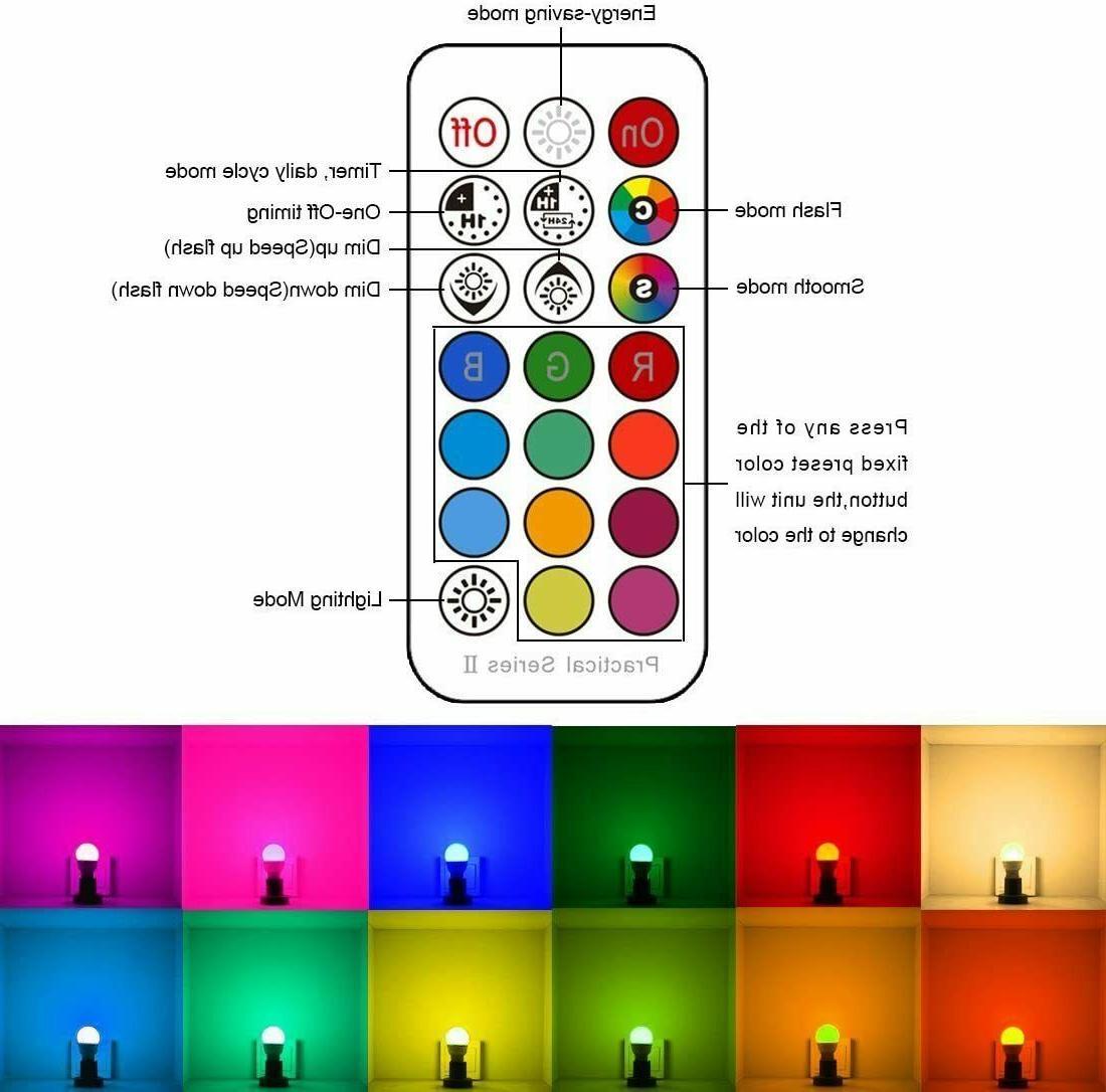 LED Bulbs 40 Watt Color Colors,- FREE