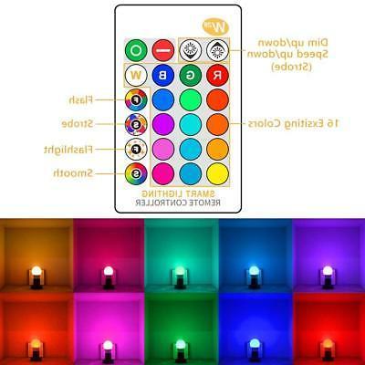 E26 LED Bulbs RGB Changing 15W Remote Pack