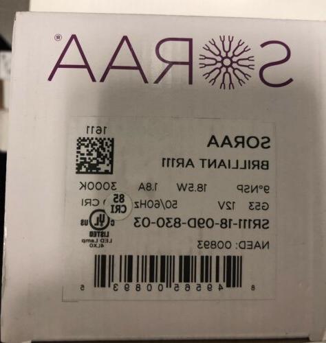 LED - SORAA VIVID AR111   SR111-18-09D-830-03 18.5W 3000k La