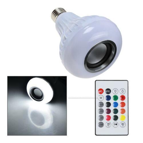 LED Wireless Light Smart Music Play Lamp +