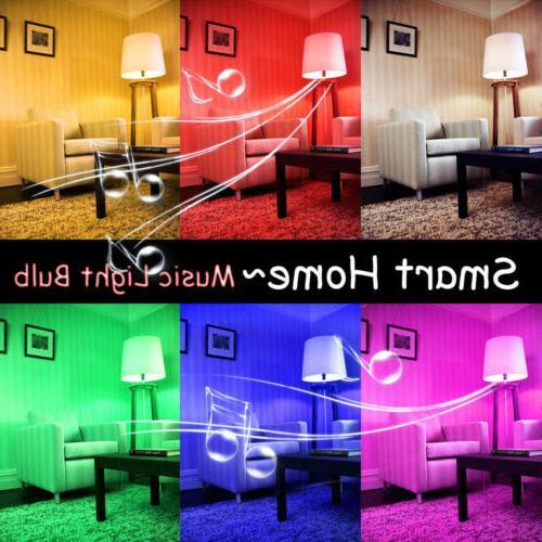 LED Wireless Light 12W RGB Smart Lamp + Remote