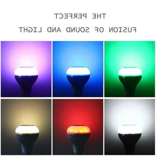 LED Bluetooth Bulb Light Smart Play +