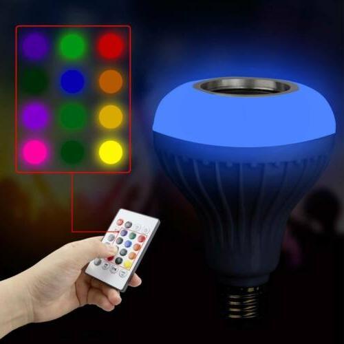 LED Bulb Light Smart Music + Remote