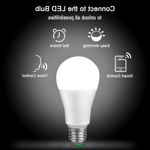 LED WIFI Bulb For Amazon Google