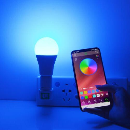 LED WIFI Smart Bulb Light Dimmable Lamp For Home