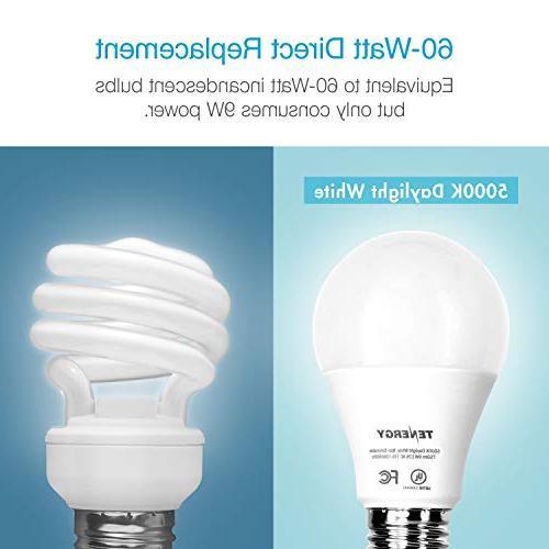 Tenergy LED Light 9 watts Equivalent E26 5000K Saving for