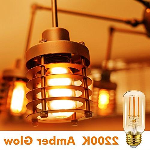Emotionlite Bulbs, E26 Dimmable Tubular 2200K Medium UL 6