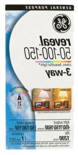 GE Lighting 97785-4 97785 Reveal Light Bulb, 4 Pack, Soft Wh