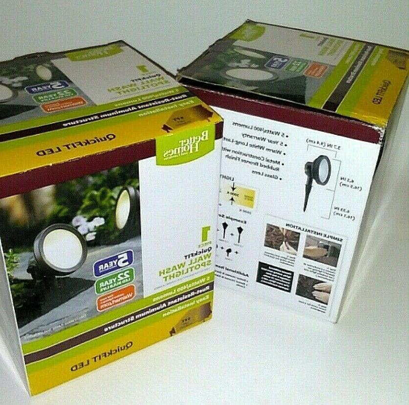 Lot of 2 Better Homes & Gardens LED Wall Wash Spotlights 5 W
