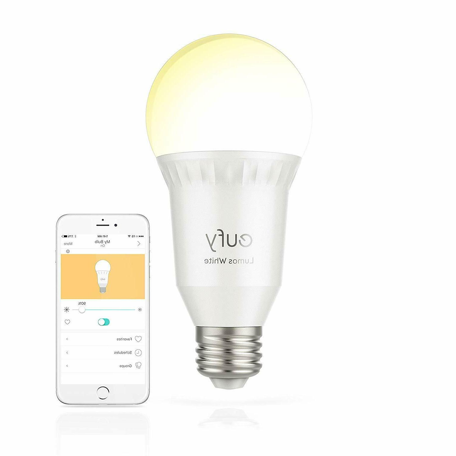 lumos 60w equivalent e26 dimmable led smart