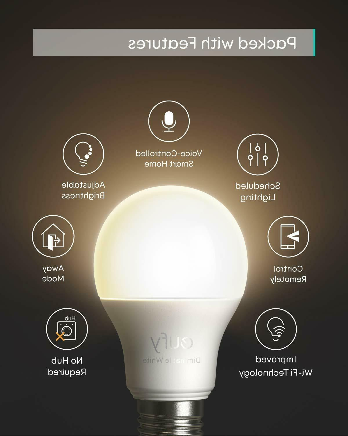 eufy Bulb Soft 2700K Compatible with LED