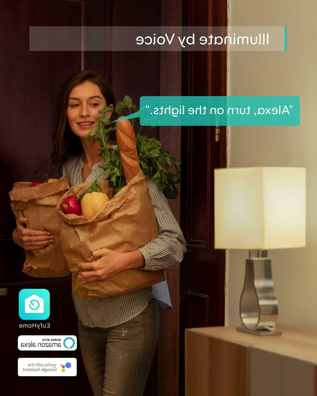 eufy Lumos Bulb Soft Compatible with Alexa Wi-Fi LED