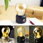 Metal Lever Switch Bulb Lamp Rechargeable Battery Night Ligh