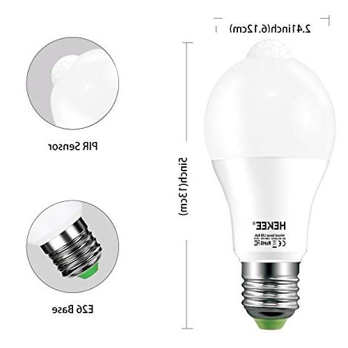 Motion 15W Dusk LED PIR Built-in IR Equivalent Bright 1450 Lumens E26 Base Bulbs