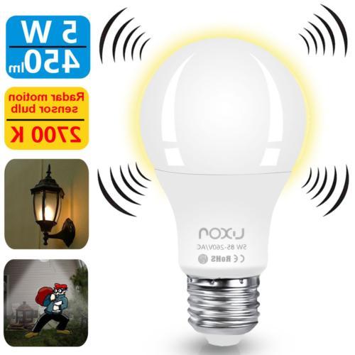 motion sensor light bulb smart